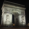 "Arc de Triomphe de l'Étoile (""Triumphal Arch of the Star"") - Paris, France"