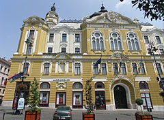 Facade of the City Hall of Pécs - Pécs, Hungary