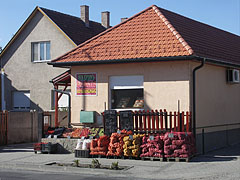 Greengrocer's store (fruit and vegetable shop) - Pilisvörösvár, Hungary