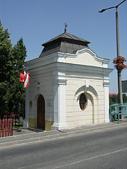 Former customs house at the Csepel Island foot of the Árpád Bridge - Ráckeve, Hungary