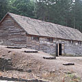 Reconstructed penal and residental barrack building - Recsk, Hungary