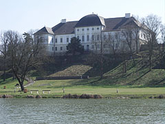 """The park of the Forgách Mansion, this so-called """"Várkert"""" (literally """"Castle Garden"""") is a nature reserve today - Szécsény, Hungary"""