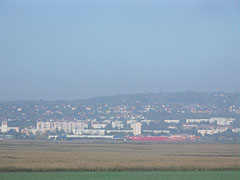 The eastern side of Szekszárd, viewed from the motorway - Szekszárd, Hungary