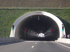 "The entrance of the 418-meter-long fourth tunnel (""Véménd"" tunnel or Tunnel ""D"") bejárata - Szekszárd, Hungary"