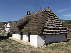 The early-19th-century-built dwelling house from Filkeháza - Szentendre, Hungary