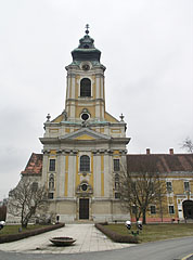 The Roman Catholic Assumption of Virgin Mary Church (former Cistercian Abbey of Szentgotthárd) - Szentgotthárd, Hungary