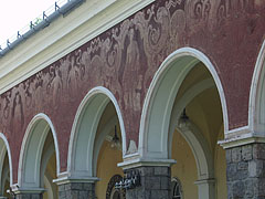 The arcades of the medicinal and thermal bath - Szolnok, Hungary
