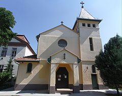 "The Roman Catholic Sacred Heart of Jesus church or ""Poorhouse church"" - Szolnok, Hungary"