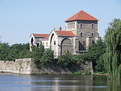 "The Tata Castle on the shore of Lake Öreg (or Old Lake, in Hungarian ""Öreg-tó"") - Tata, Hungary"
