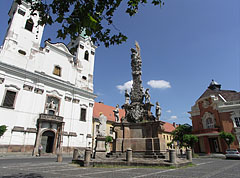 Piarist Church of Saint Ann and the Holy Trinity column - Vác, Hungary