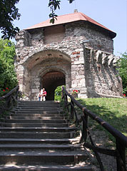 Entrance of the Upper Castle, the gateway tower - Visegrád, Hungary