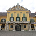 The baroque style Száraz-Rudnyánszky Mansion is a so-called Grassalkovich-type mansion - ブダペスト, ハンガリー