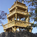 Várhegy Lookout Tower (formerly Berzsenyi Lookout) - Fonyód, ハンガリー