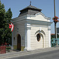 Former customs house at the Csepel Island foot of the Árpád Bridge - Ráckeve, ハンガリー