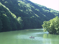 The wonderful Hámori Lake in the Garadna Valley, near the Palace Hotel - Lillafüred, 헝가리