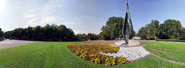 Margaret Island (Margit-sziget), The Centennial Memorial - بودابست, هنغاريا