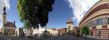 Jurisics Square - Kőszeg, Hungary