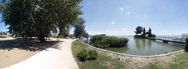××Lakeside of the Balaton - Keszthely, ハンガリー